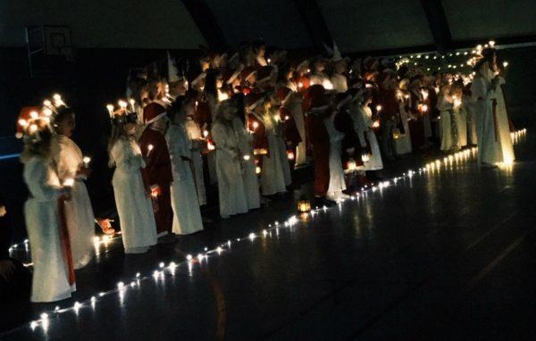Lucia brengt licht in het donker