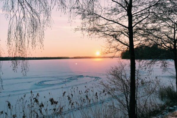 Die lange, koude, donkere Zweedse winter